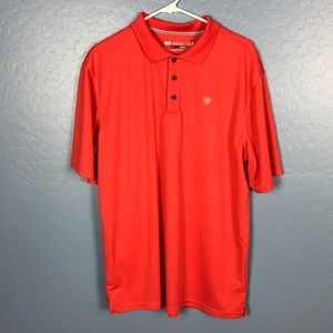 Ariat Shirts - ARIAT Tek Heat Series Men's Polo Size Large